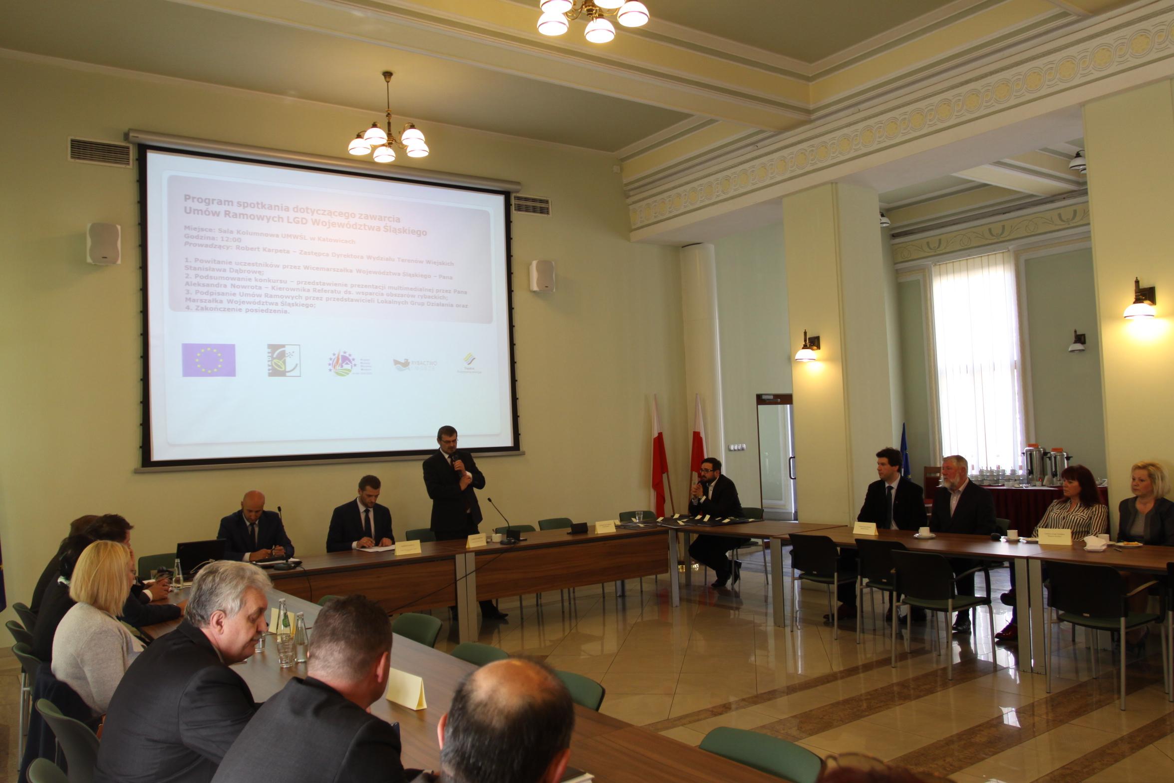 Podpisano Umowy Ramowe na realizację Lokalnych Strategii Rozwoju